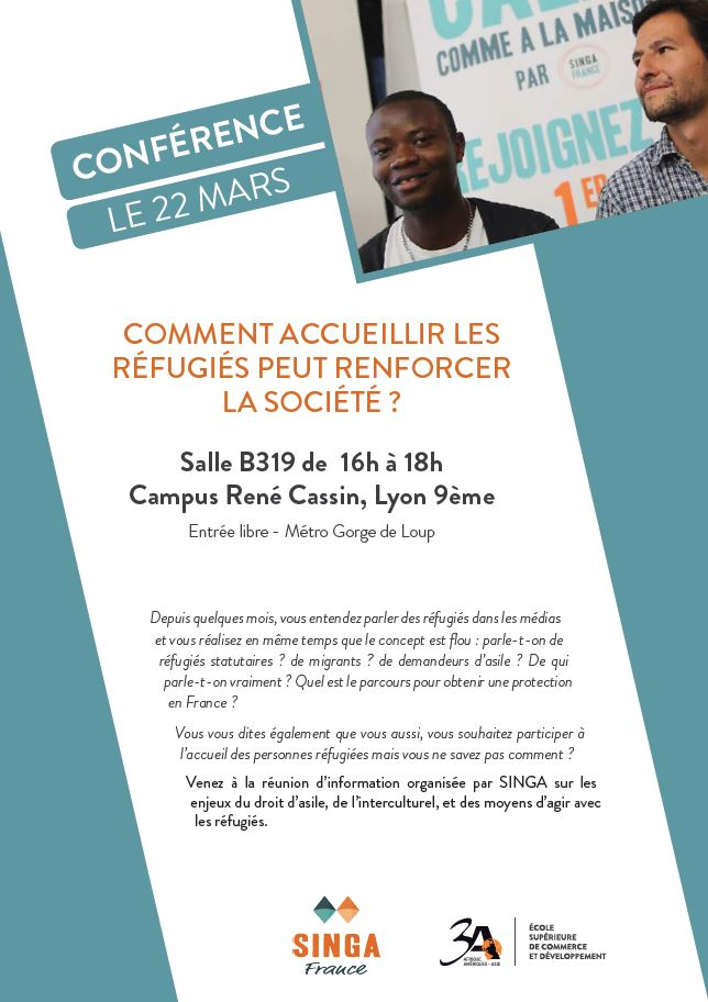 Affiche conference SINGA_3A
